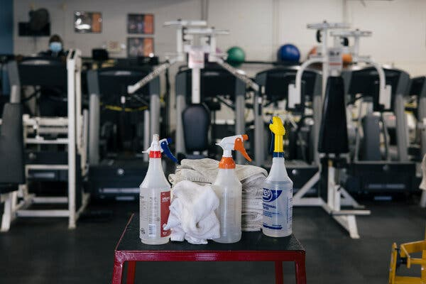 A boom in gym memberships is likely as soon as people are sure it's safe.