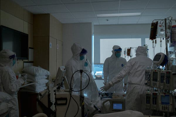 New virus cases among health care workers in the Los Angeles County fell to 69 for the week of Feb. 14, from more than 1,800 cases during the week of Nov. 29, the county said.