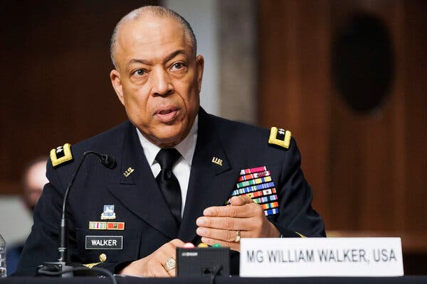Maj. Gen. William J. Walkerserved for 30 years in the military and law enforcement.