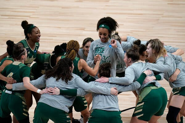 South Florida is playing in the first game of the second round, facing North Carolina State.