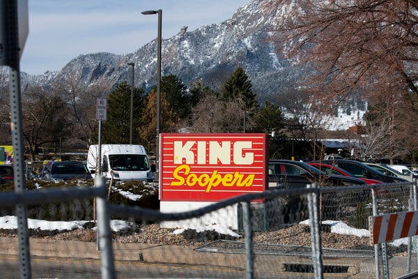 The store in the Table Mesa neighborhood of Boulder is one of over 100 King Soopers in Colorado.
