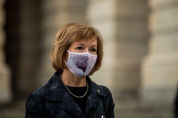 """The Senate needs to abolish the filibuster. It's undemocratic,"" Senator Tina Smith, Democrat of Minnesota, wrote on Twitter."