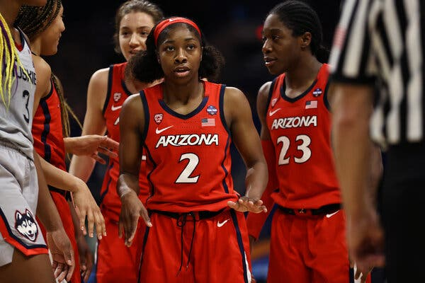 Against UConn in the Final Four, Aari McDonald of Arizona was the biggest star on the floor.
