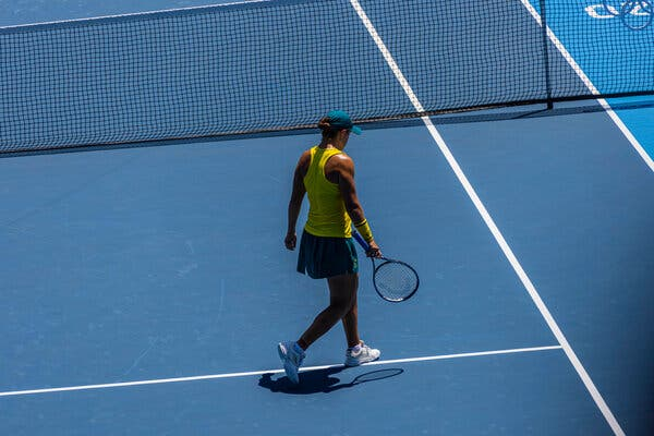 Ashleigh Barty, the No. 1 player on the women's tennis tour, lost in the first round of the Olympic singles tournament.