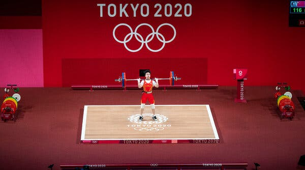 Hou Zhihui of China is a key athlete for her country's mission of collecting golds.
